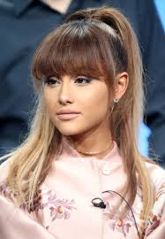 bungees hair how to create grande s ponytail