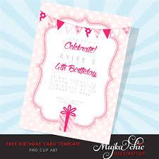 free printable birthday card template mujka clipart printable