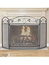 Fireplace Chain Screens - shop amazon com fireplace screens