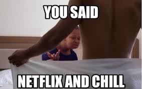 Unamused Black Girl Meme - 29 hilarious exles of what netflix and chill really means