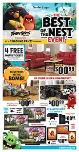 angry birds national furniture promotion