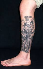 lower leg tattoo for men photo 2 2017 real photo pictures