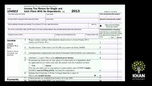2014 Tax Tables 1040ez How Do I Fill Out Form 1040ez And What Is It For