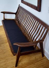 Modern Furniture Bench Mid Century Modern Sofa Bench Walnut By Rjl73 Lumberjocks