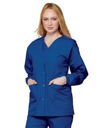 essentials fashion warm up scrub jacket