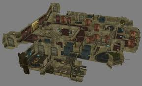 Morrowind Map Vivec Entrance Ordinator Barracks Overview Image Morrowind