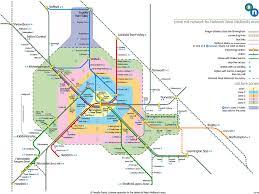 England Blank Map by West Midlands Train Rail Maps