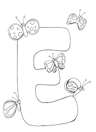 letter e coloring pages alphabet words with diaet me