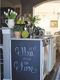chalkboard in kitchen ideas kitchen chalkboard ideas