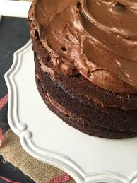 the best classic easy one bowl chocolate cake