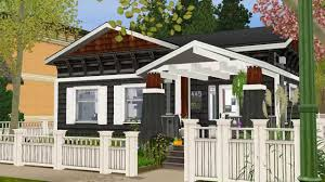 craftsman house style the sims 3 craftsman style house 2014 download youtube