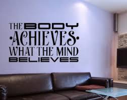 home gym wall decor astounding ideas home gym wall decor decal etsy wall decoration ideas