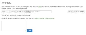 One Organization Moving Devices Between Organizations Cisco Meraki