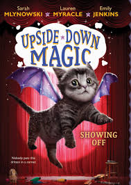 upside down magic by emily jenkins scholastic card image