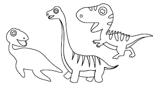 how to draw little dinosaurs coloring pages animals finger family