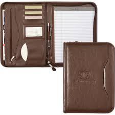 Resume Padfolio Personalized Vanguard Leather Calculator Padfolio Usimprints