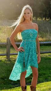 strapless teal lace dress naf dresses
