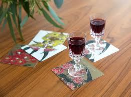 australian eucalypt drink coasters lightweight gift under 15