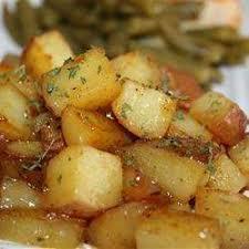 cuisiner pommes de terre recette pommes de terre rôties au romarin toutes les recettes