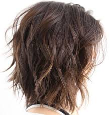 jagged layered bobs with curl 80 sensational medium length haircuts for thick hair wavy bobs