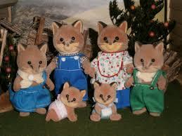 Sylvanian Families Garden Playground The Renard Fox Family Sylvanian Families