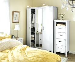 Ready Assembled White Bedroom Furniture Wardrobes Ready Assembled New Geo 3 Door Mirrored Wardrobe