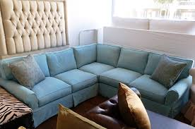 How To Make Sofa Cover How To Make Slipcovered Sectional Home Design Ideas