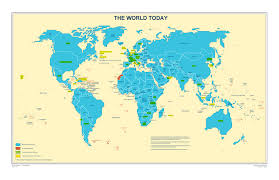 Map Of Where I Am Countries Visited Where Did Flo Go