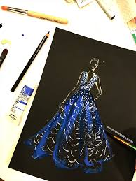 fashion illustration inspired by golden globes 2016 u2014 fashion and
