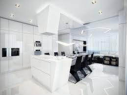 Black And White Contemporary Interior Design Ideas For Your Dream - White interior design ideas