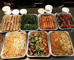 3 fr cuisine catering platters 5 fresh rolls 3 rolls 79 fried