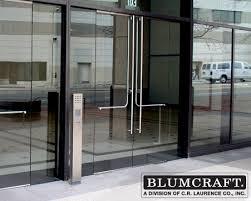 All Glass Doors Exterior Crl Arch Blumcraft Glass Entrance Doors