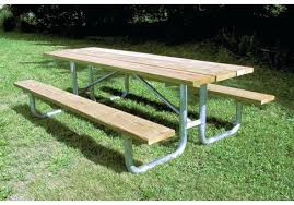 rustic outdoor picnic tables wood picnic table commercial site furnishings rustic picnic tables