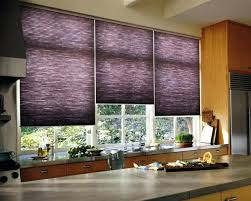 Kitchen Curtains Lowes Window Blinds Stylish Purple Kitchen Window Blinds Used In The