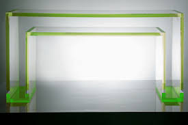 Green Console Table Brilliant Acrylic Console Table Green