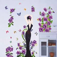 D Stereo Flowers Wall Art Mural Sticker Decor Diy Home Decoration - Home decor wall art stickers