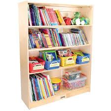 Adjustable Bookcase Strips 4 Shelf Adjustable Bookcase U2013 48