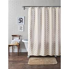 Machine Washable Shower Curtain Better Homes And Gardens Metallic Ikat Dou Fabric Shower Curtain