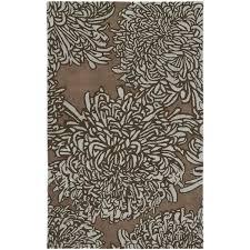 Martha Stewart Safavieh Rugs Martha Stewart By Safavieh Chrysanthemum Driftwood Grey Brown