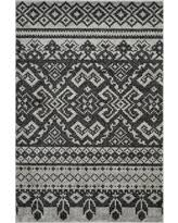 Black Round Rug Deal Alert Safavieh Adirondack Collection Adr107a Silver And