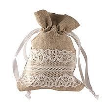burlap wedding favor bags burlap wedding favor bags