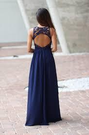 navy blue lace chiffon maxi bridesmaid dresses long 2017