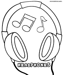 microphone coloring pages coloring pages to download and print
