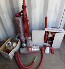 kirby vaccum lot detail vintage kirby vacuum with attachments and rug renovator
