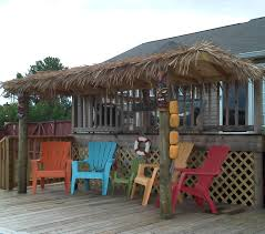 Patio Roof Ideas South Africa by Thatch Roof Kits For Deck How Make Tiki Hut Palm Leaf Roof