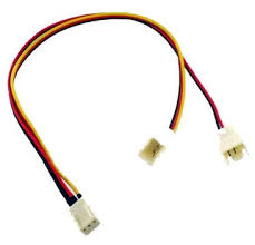 cpu fan 4 pin to 3 pin cpu fan splitter cable malaysia akiba cable