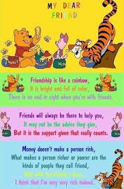 friendship pooh quotes thanksgiving quote