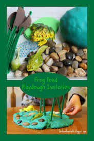 Frog Pond Backyard Kitchen Floor Crafts Frog Pond Playdough