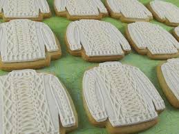 sweater cookie cutter thanksgiving cookies knitionary