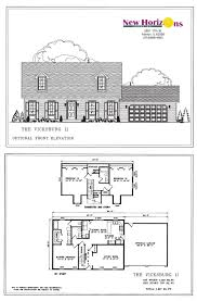 cape cod blueprints model homes floor plans marion il new horizons homes inc
